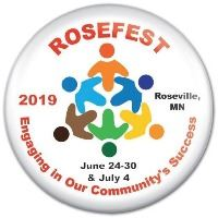 Rosefest button 2019